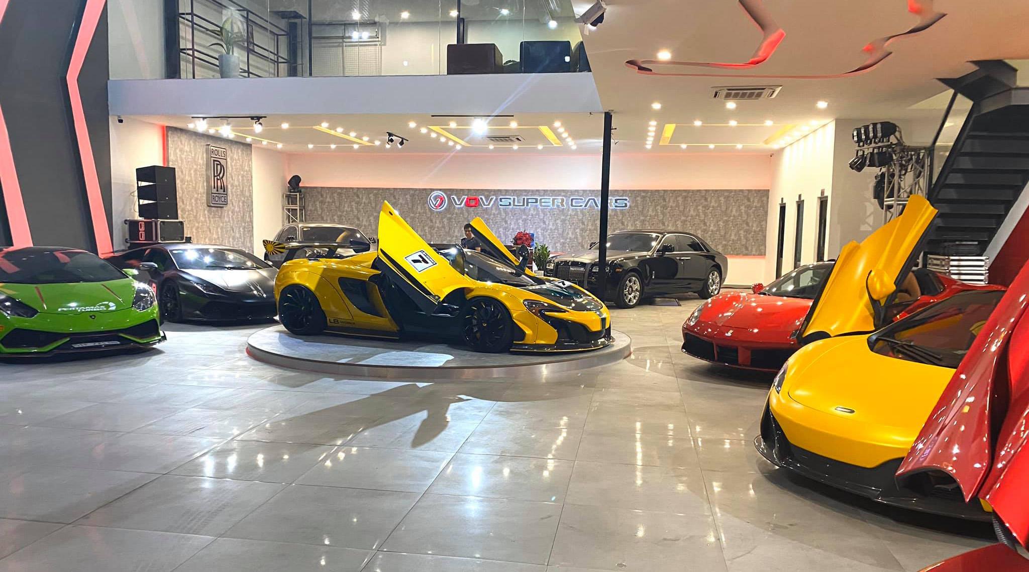 Lộ diện Showroom bán siêu xe khủng nhất Việt Nam
