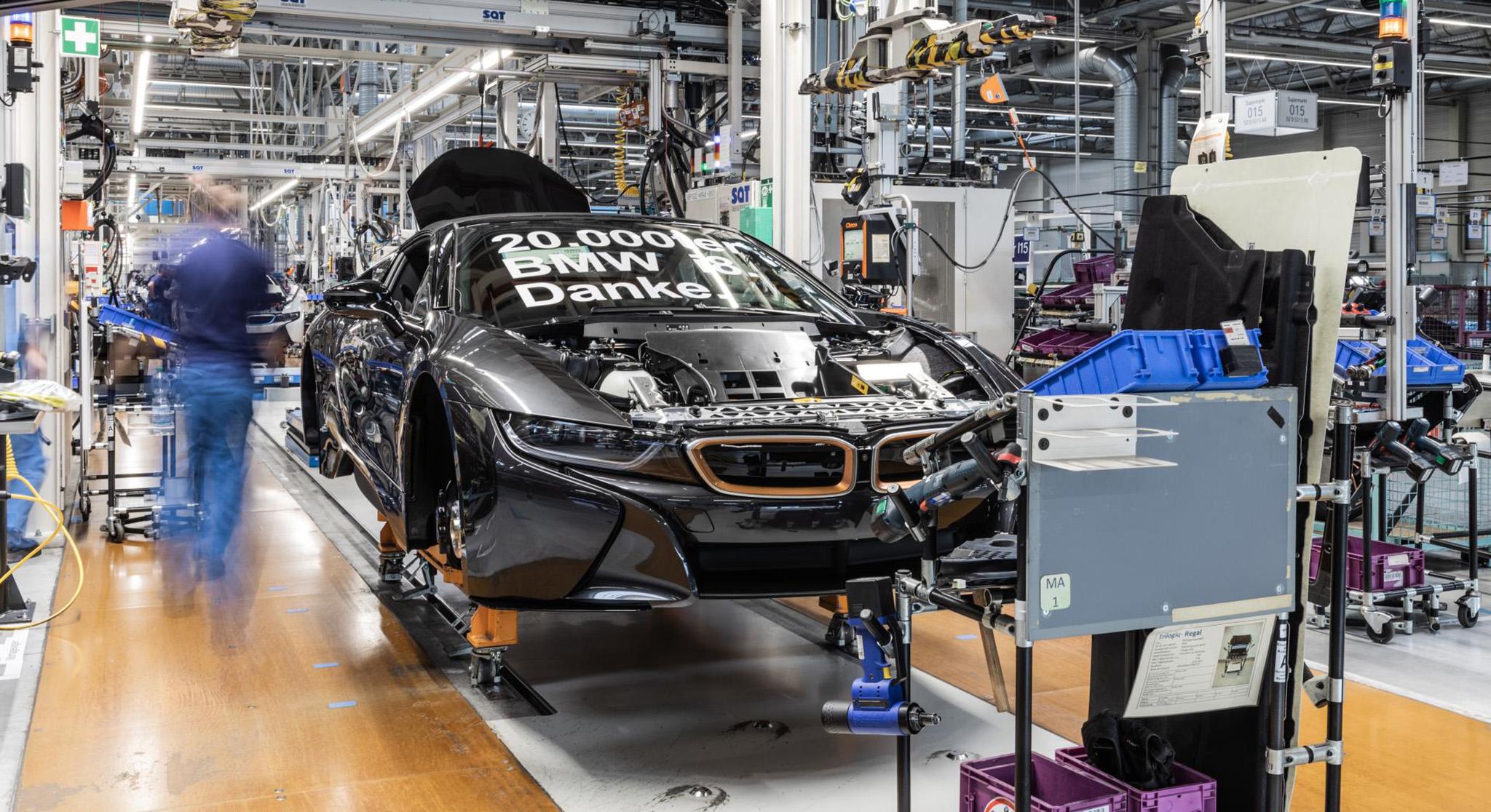 BMW i8 cán mốc 20.000 xe bằng phiên bản đặc biệt