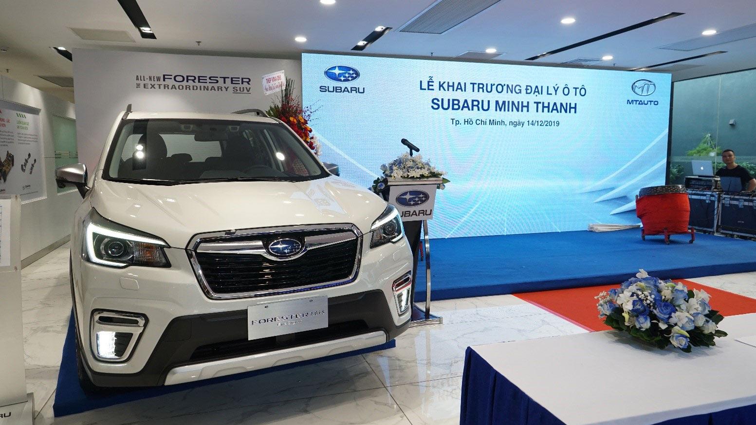 Subaru khai trương Đại lý thứ 10 tại Việt Nam