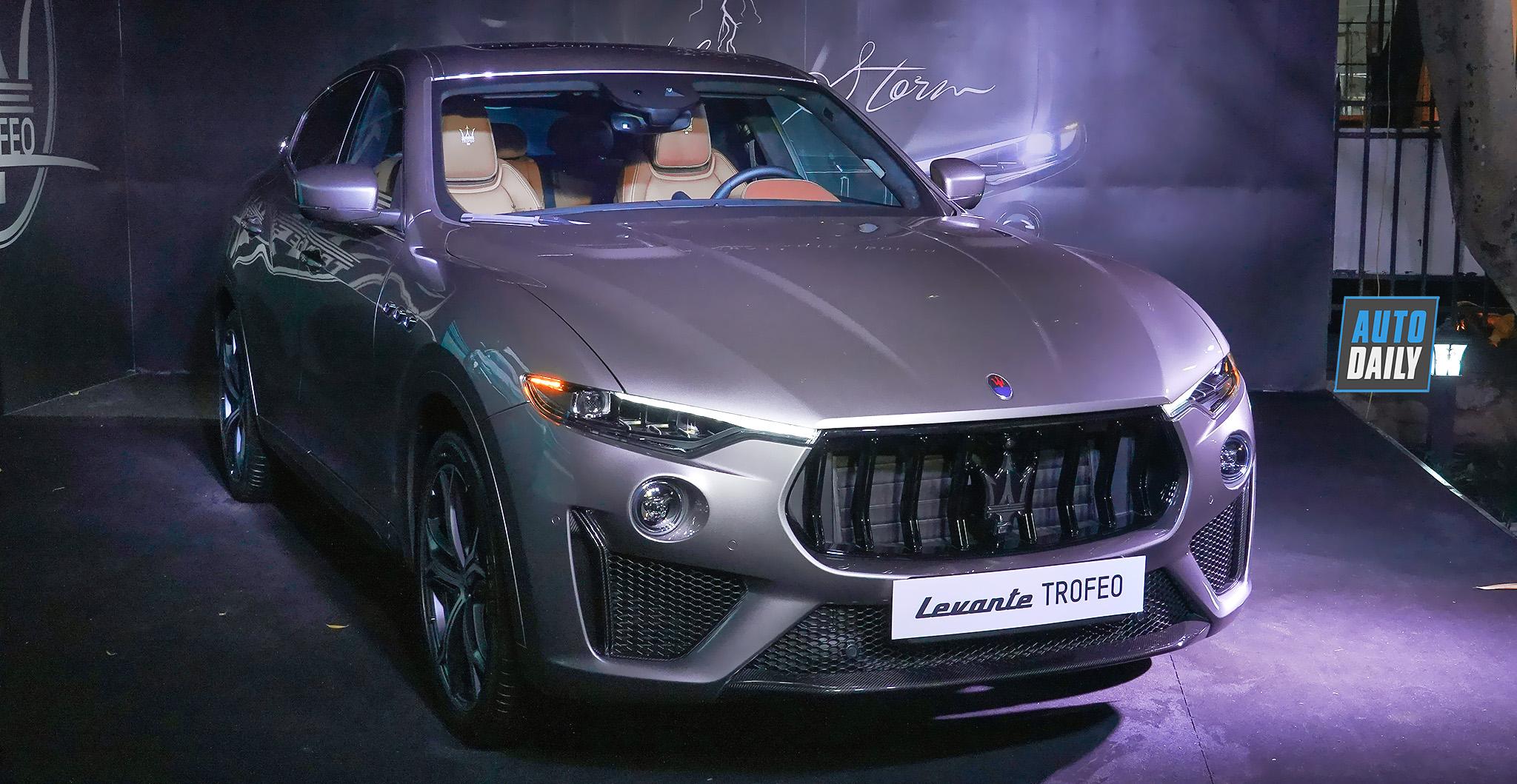 Siêu SUV Maserati Levante Trofeo hơn 14 tỷ ra mắt tại Việt Nam