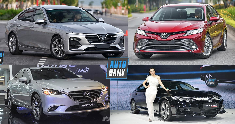 Top 5 sedan tốt nhất trong tầm giá 900 triệu đến 1,3 tỷ chơi Tết