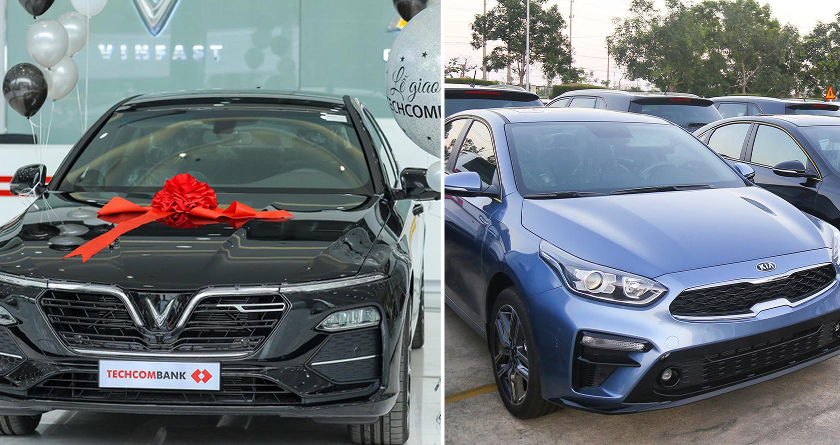 VinFast giao 30 xe Lux A2.0 cho Techcombank; THACO xuất khẩu Cerato; Innova giảm giá sốc 100 triệu