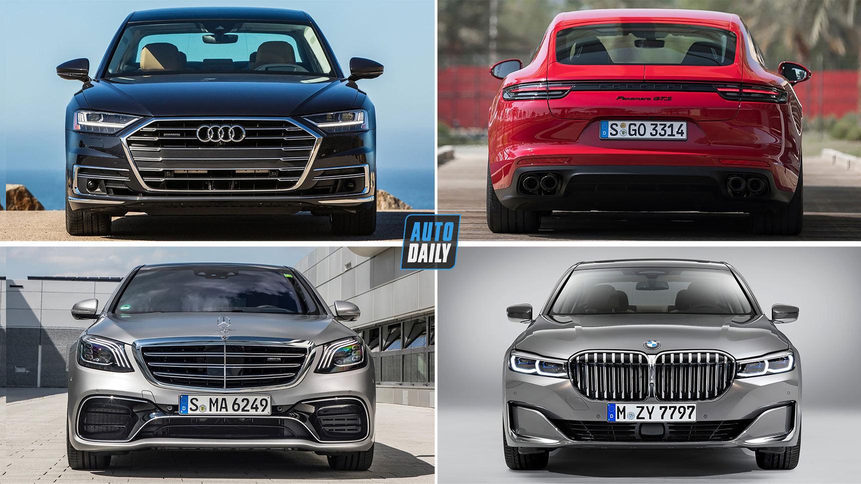 Top 5 sedan hạng sang 2020: Đại chiến xe Đức