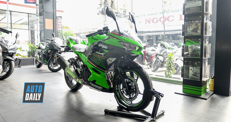 Kawasaki Ninja 400 KRT 2020 có giá từ 156 triệu đồng tại Việt Nam