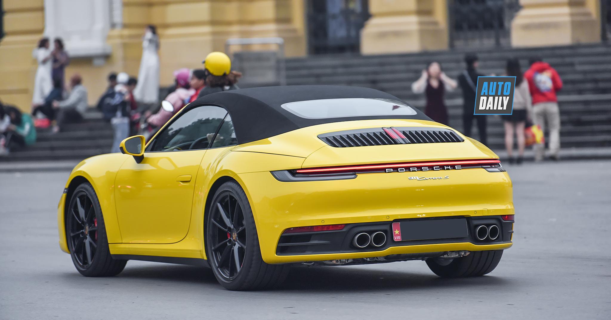 Porsche 911 Carrera S Cabriolet 2020 đầu tiên tại Việt Nam, giá từ 8,5 tỷ