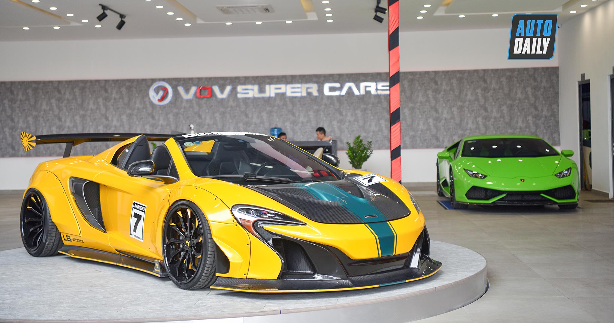 Đây là showroom bán siêu xe khủng nhất Việt Nam hiện tại