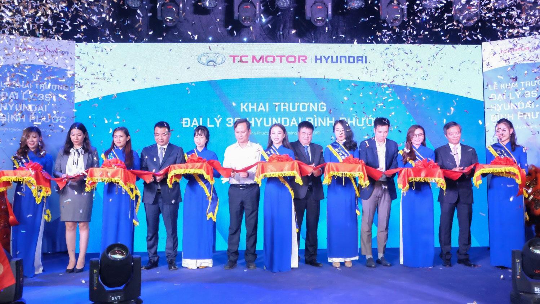 Khai trương đại lý Hyundai 3S đầu tiên tại Bình Phước