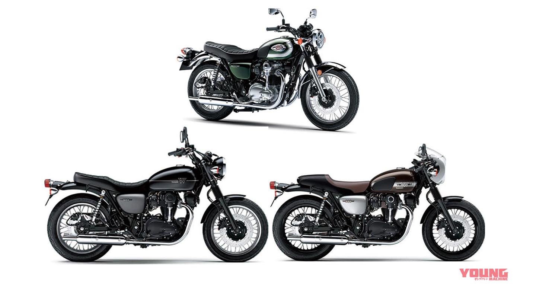 """""""Xế hoài cổ"""" Kawasaki W800 2020 trình làng với ba phiên bản"""