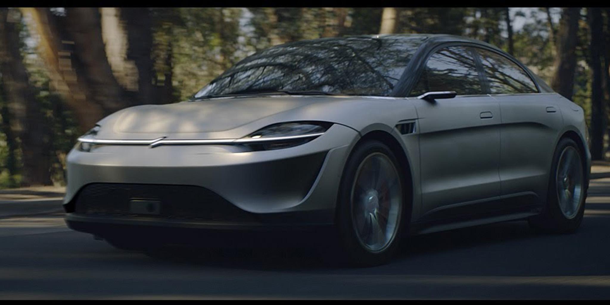 Sony trình làng concept xe điện Vision-S tại CES 2020