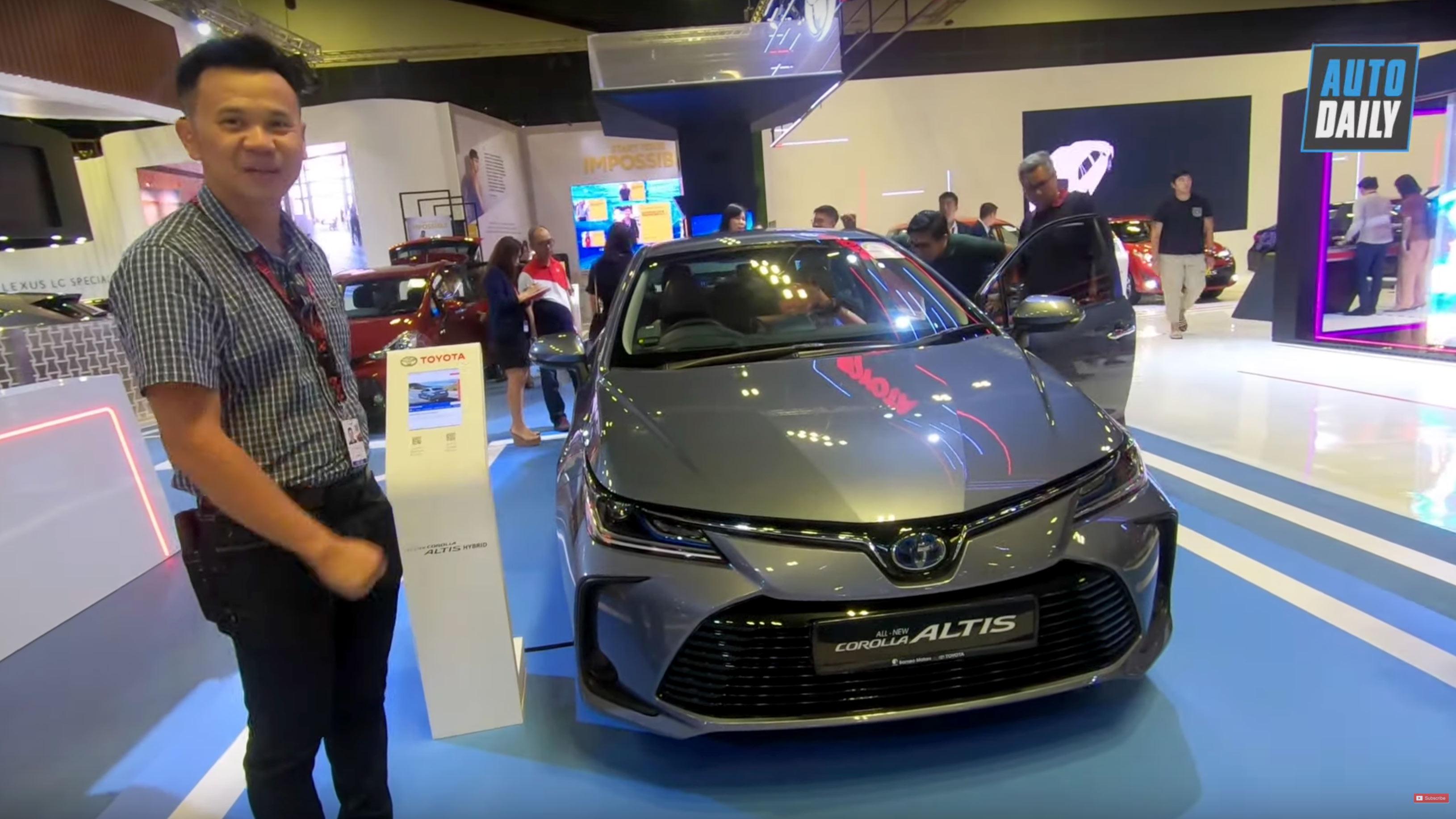 Toyota Corolla Altis 2020 về Việt Nam có trang bị tràn ngập công nghệ như Toyota Camry?