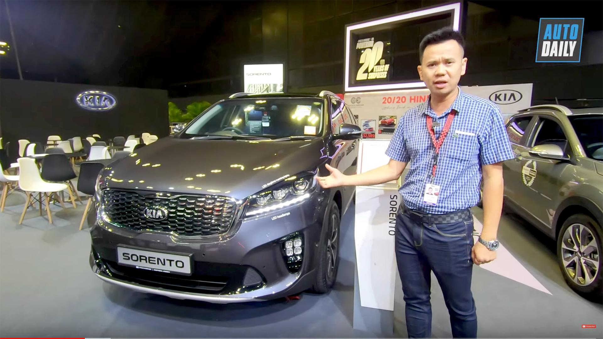 Đánh giá Kia Sorento 2020: Chờ ngày về Việt Nam, quyết đấu Toyota Fortuner và Hyundai Santa Fe 2020