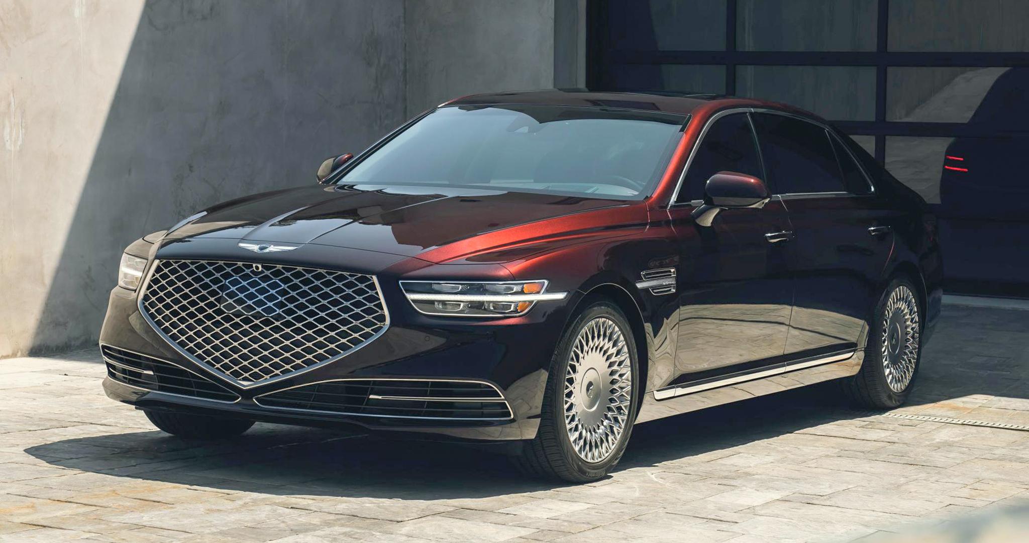 Genesis G90 2020 chốt giá từ 73.195 USD, rẻ hơn Mercedes-Benz-S-Class