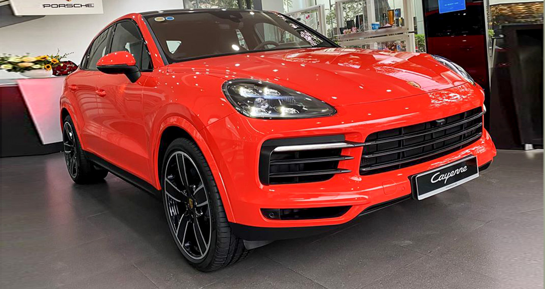 Porsche Cayenne Coupe 2020 giá từ 5 tỷ đến tay khách hàng tại Hà Nội