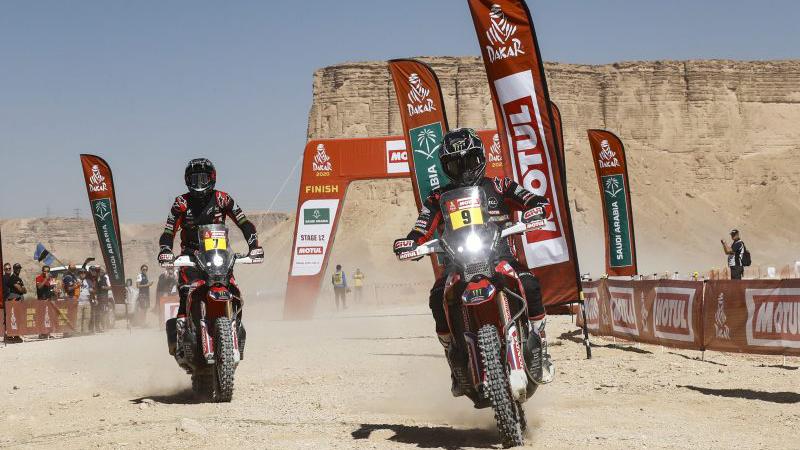 Tay đua Ricky Brabec của Monster Energy Honda vô địch giải Dakar Rally 2020