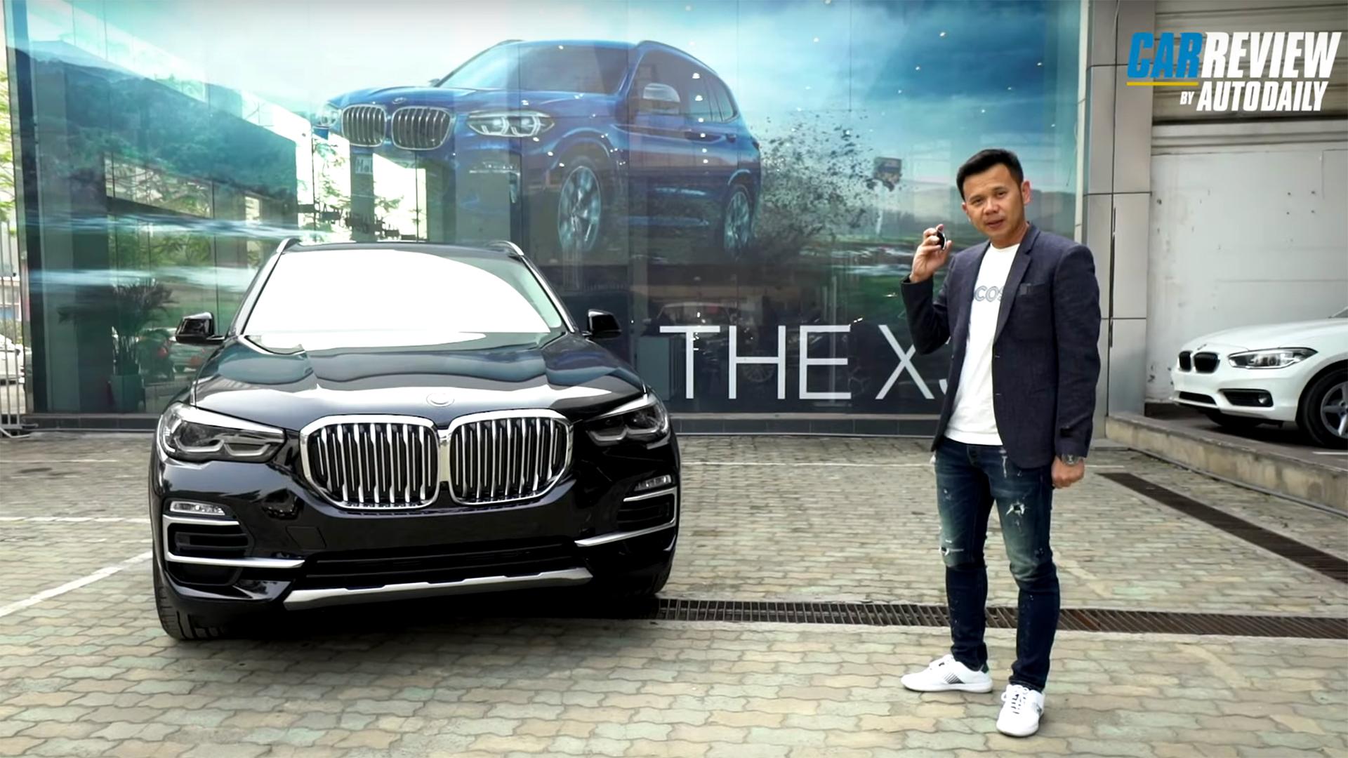 BMW X5 2020 40i - Cần số pha lê đấu Mercedes GLE, Lexus RX