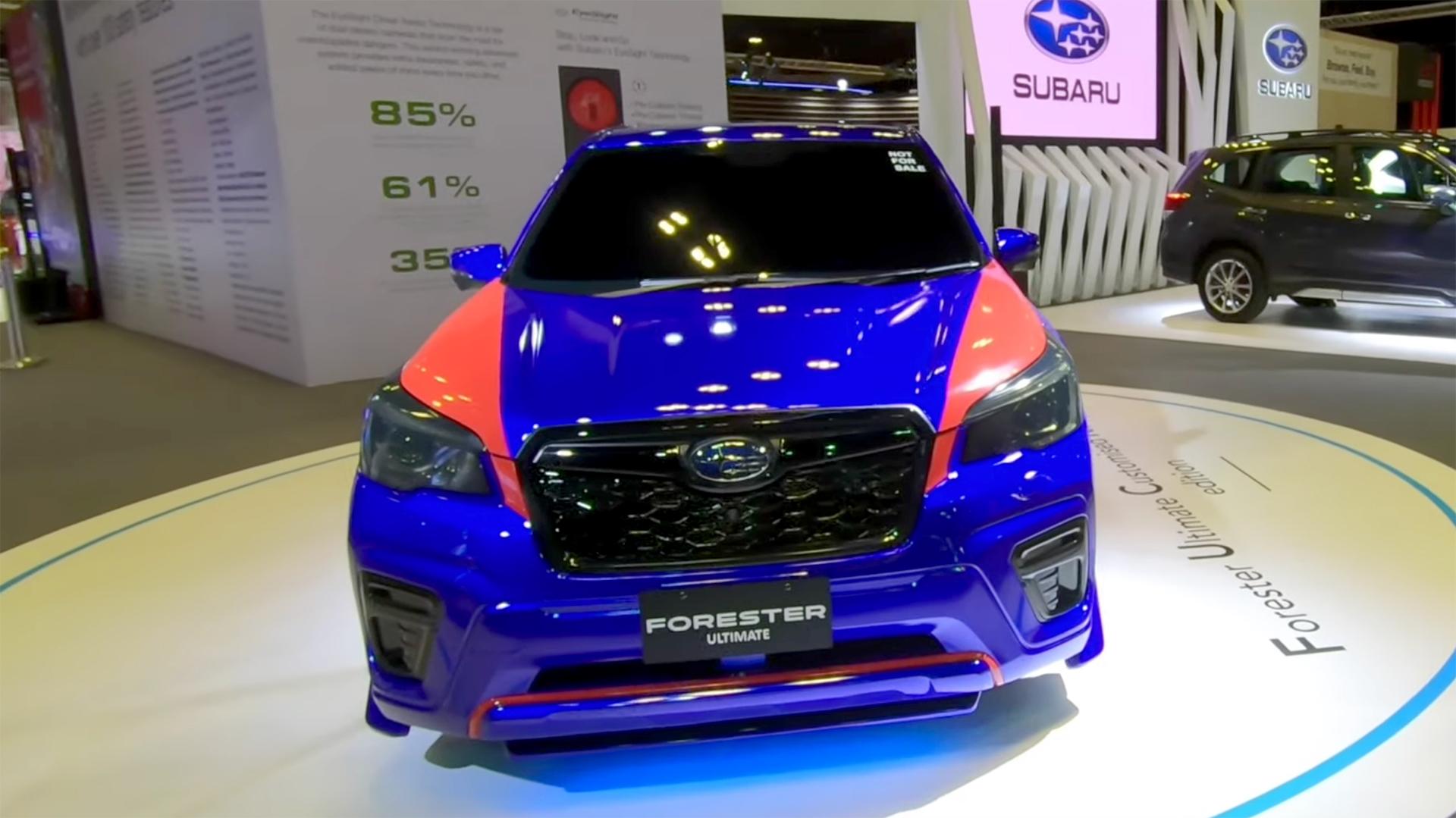 Chiếc Subaru Forester 2020 Ultimate đẹp nhất thế giới là đây