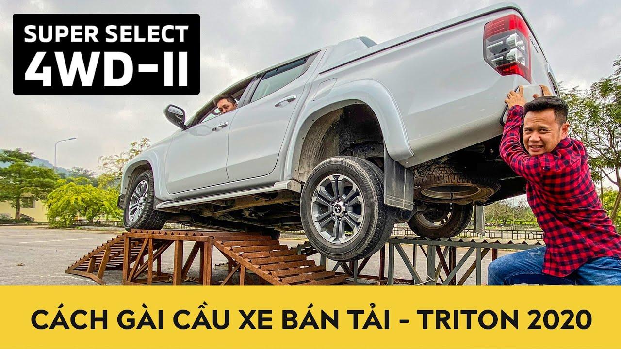 Cách gài cầu xe bán tải Mitsubishi Triton 2020