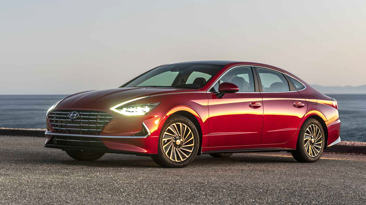 Hyundai Sonata Hybrid 2020 ra mắt, chưa có giá bán