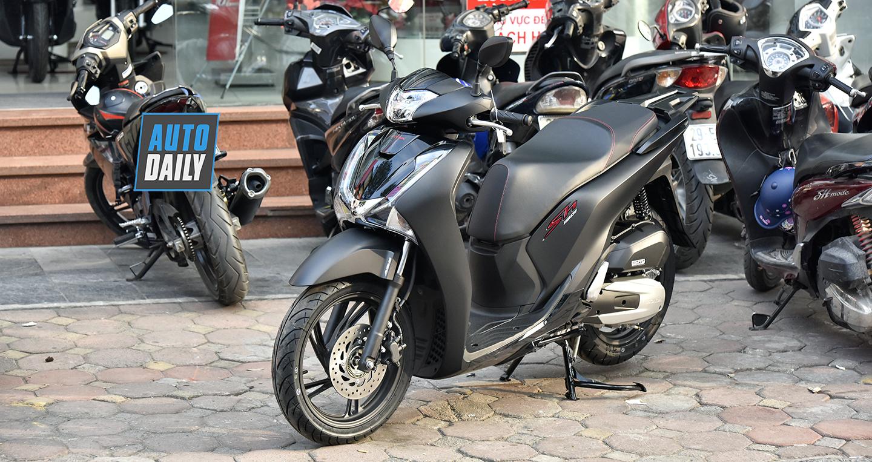 Honda SH 150i ABS 2019 đen mờ chênh giá gần 40 triệu