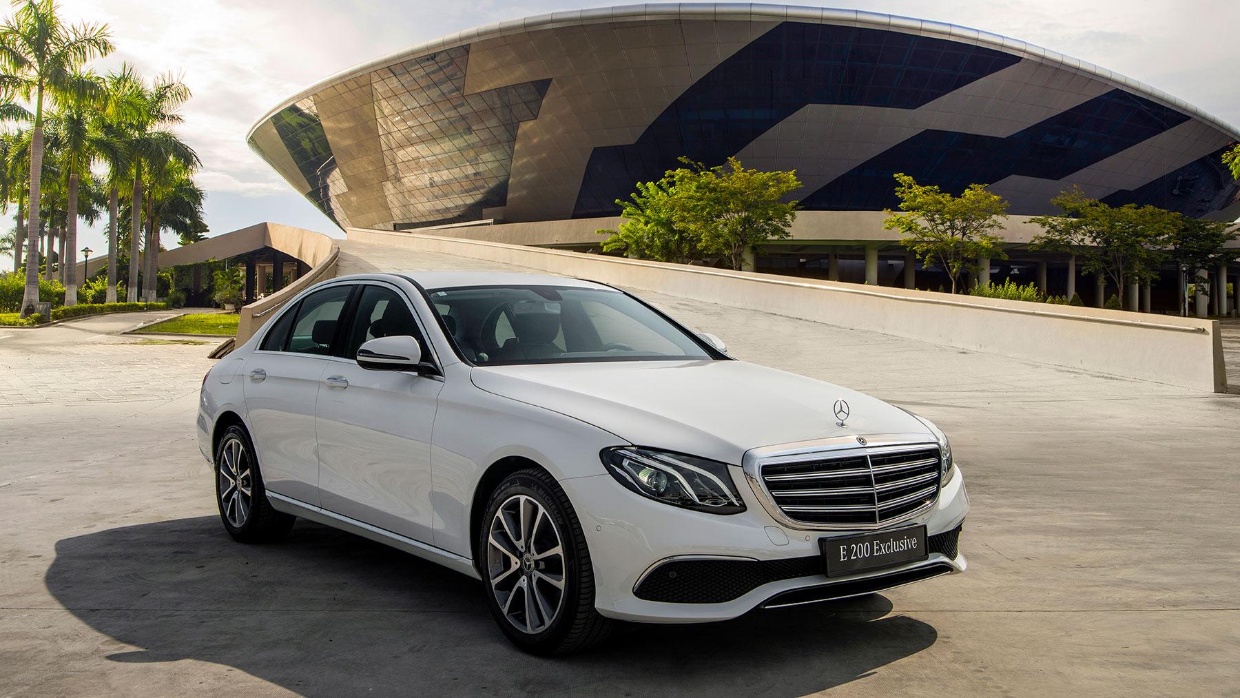 Mercedes-Benz E 200 Exclusive 2020 ra mắt tại Việt Nam, giá từ 2,29 tỷ