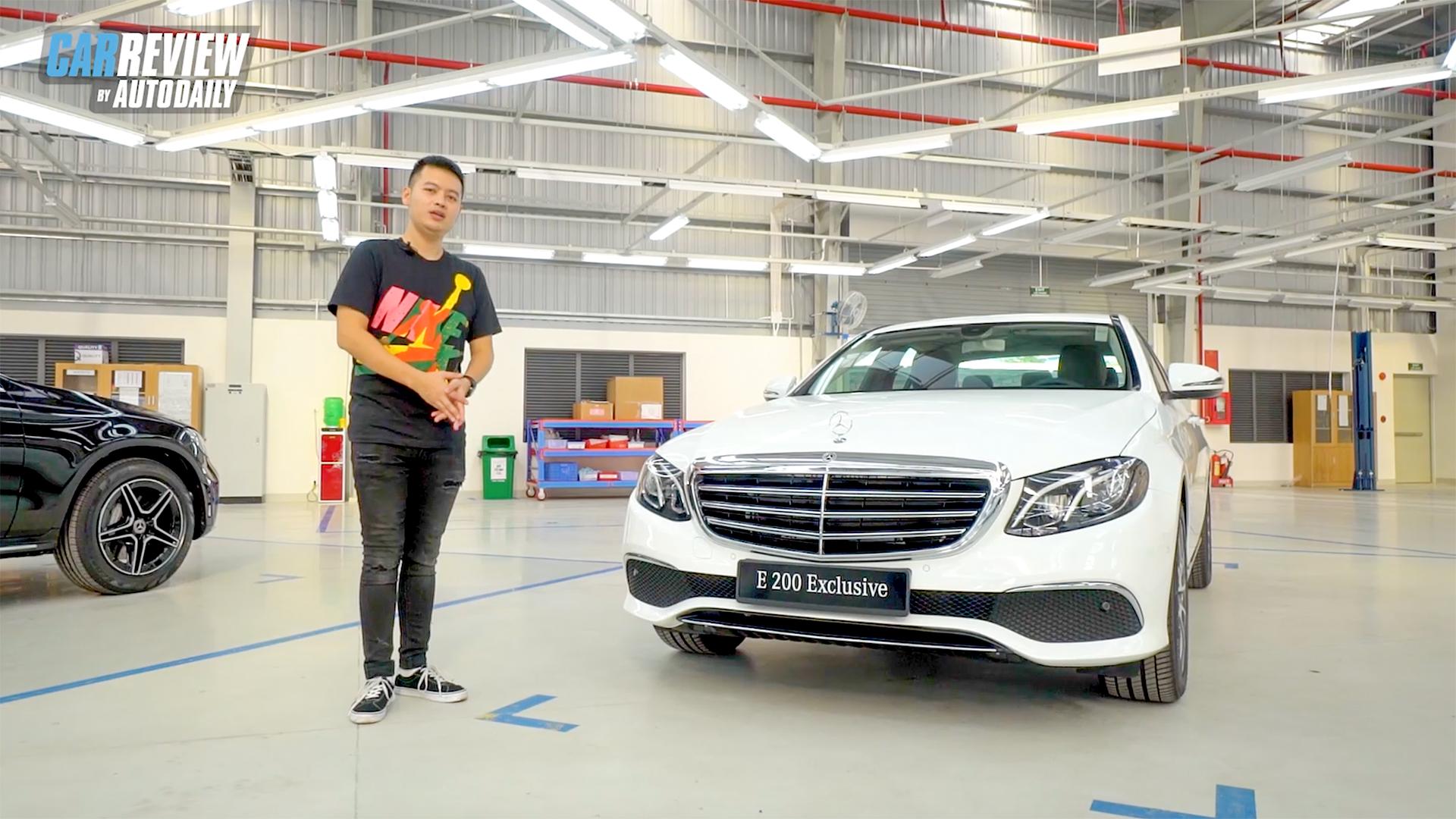 """Bóc tem"" Mercedes E 200 Exclusive 2020 giá 2,29 tỷ đồng"