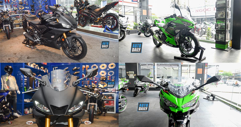 Chọn Yamaha YZF-R3 ABS 2020 hay Kawasaki Ninja 400 ABS 2020?