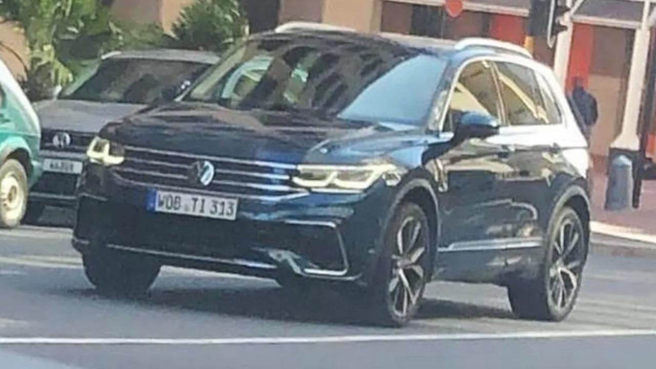 VW Tiguan 2021 lộ diện trước ngày ra mắt