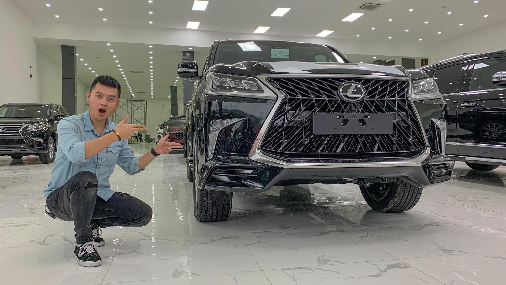 """""""Chuyên cơ mặt đất"""" Lexus LX570 SuperSport 2020 giá hơn 9 tỷ có gì đặc biệt?"""