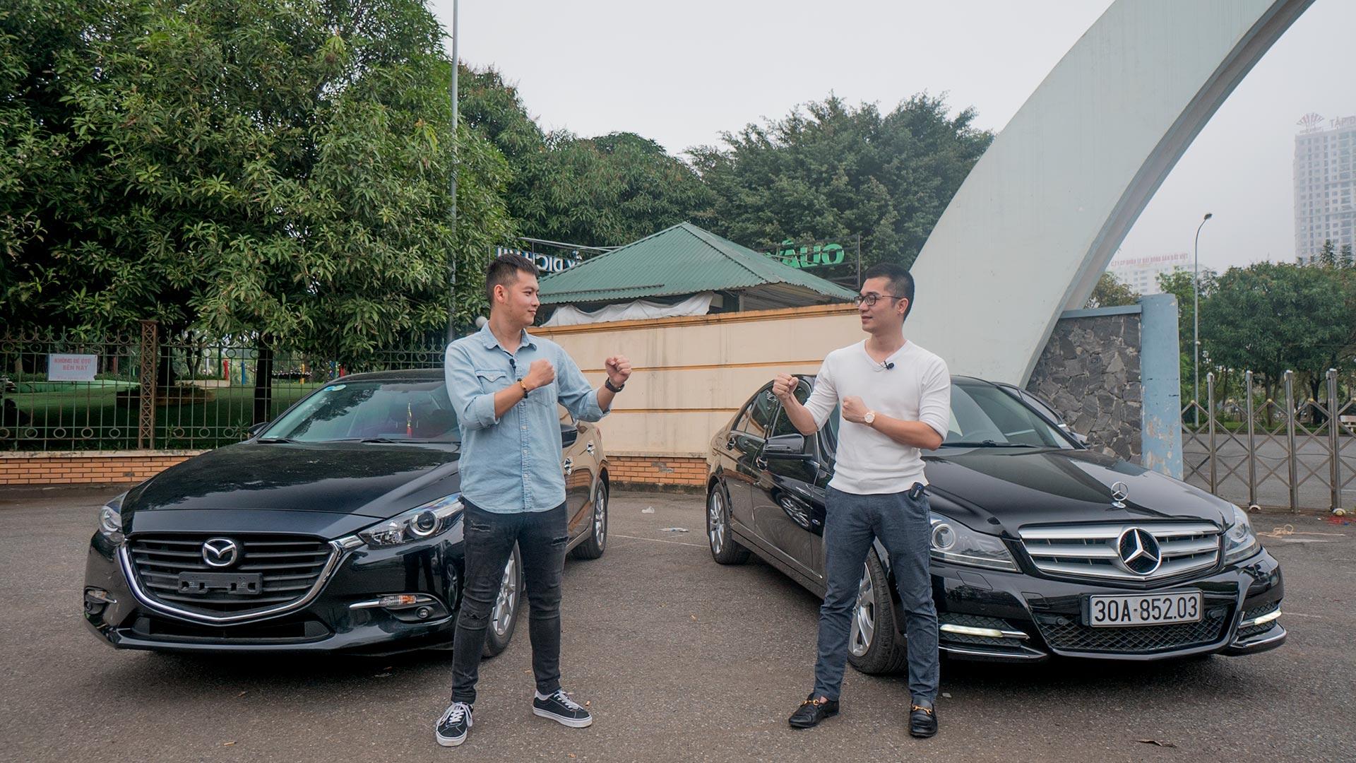 600 triệu chọn Mazda3 hay Mercedes C Class? Mua xe nào cho LÀNH và TIẾT KIỆM?