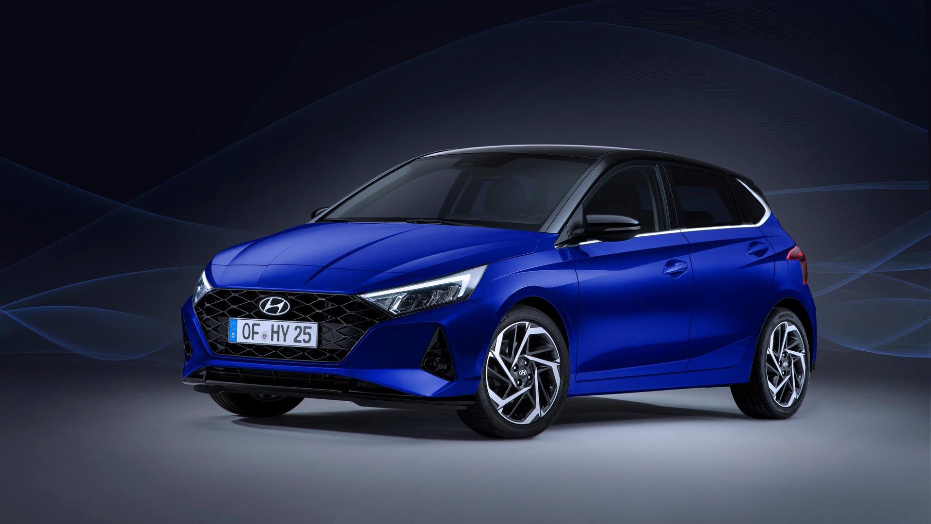 Hyundai i20 2020 lộ diện với thiết kế sắc nét, cạnh tranh Toyota Yaris