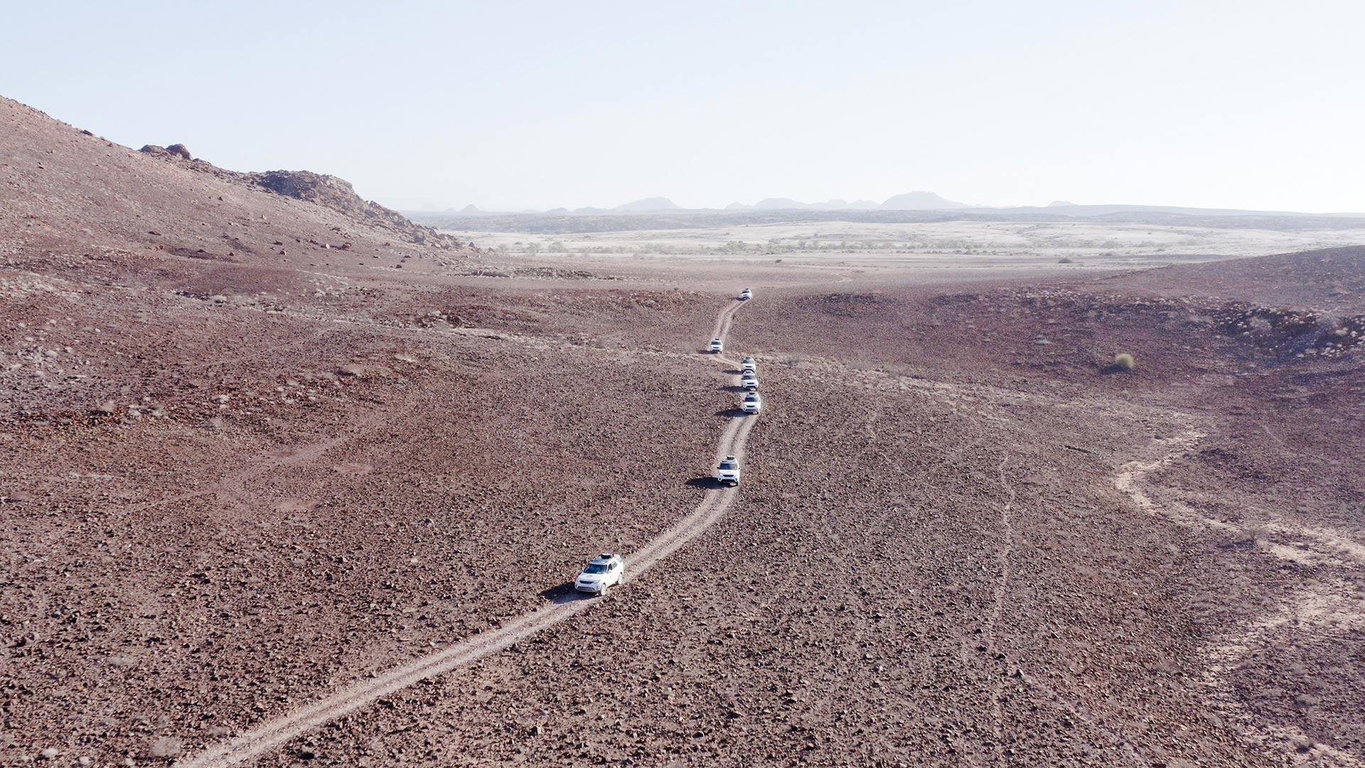 Namibia - Hành trình đầy mê hoặc - Land Rover - Trail to Namibia 2020 - Teaser