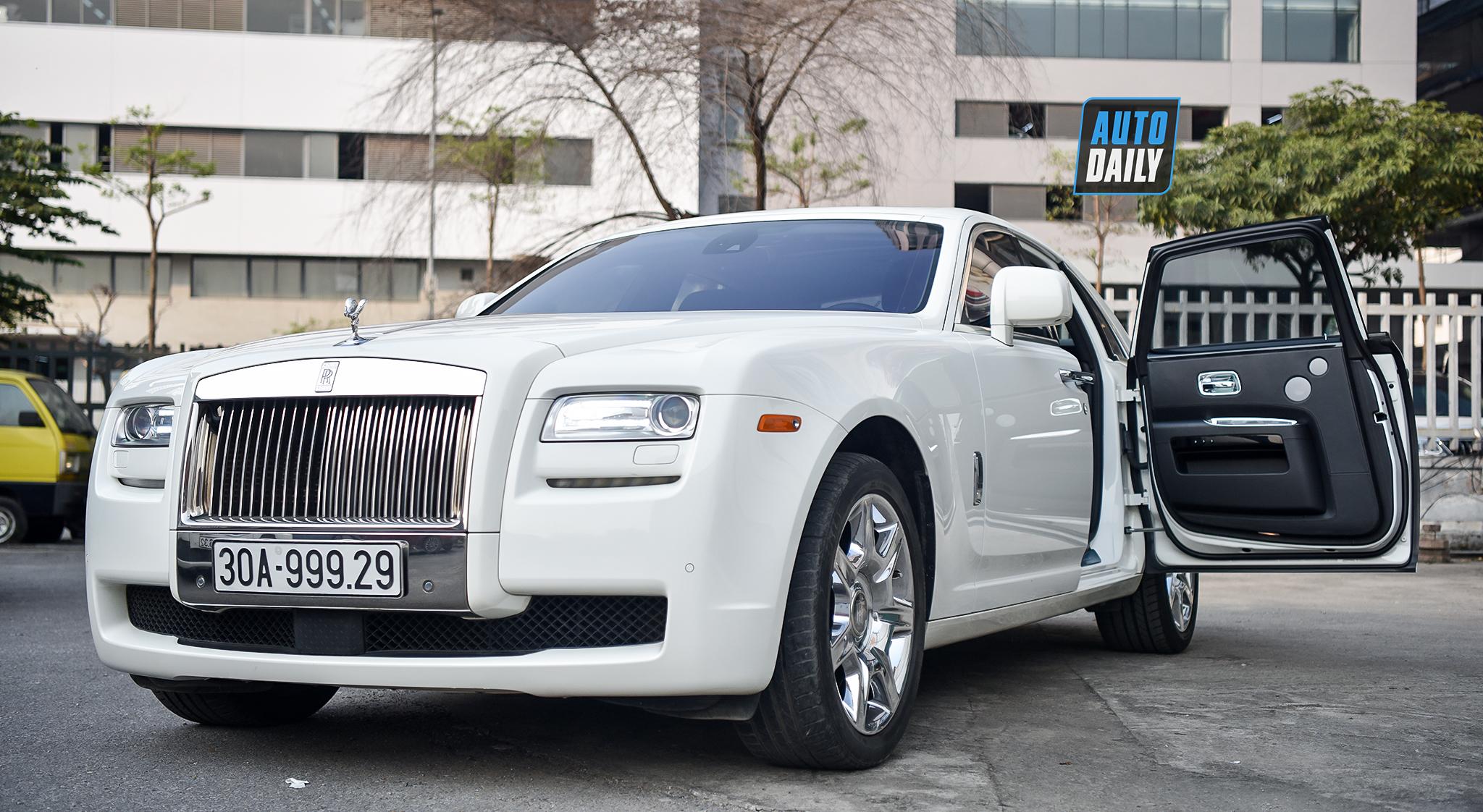 Rolls-Royce Ghost 2010 biển đẹp chào bán chỉ hơn 9 tỷ tại Hà Nội