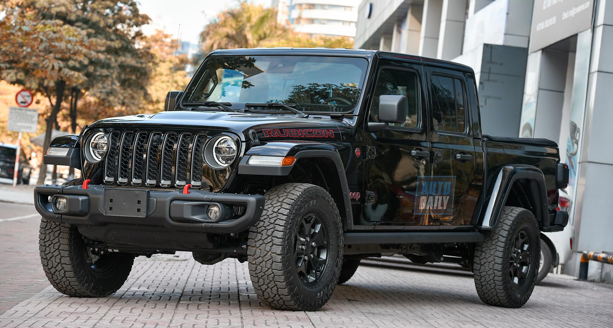 Jeep Gladiator Rubicon - Bán tải HÀNG HIẾM gần 4 tỷ - Đối thủ của Ford F150 Raptor
