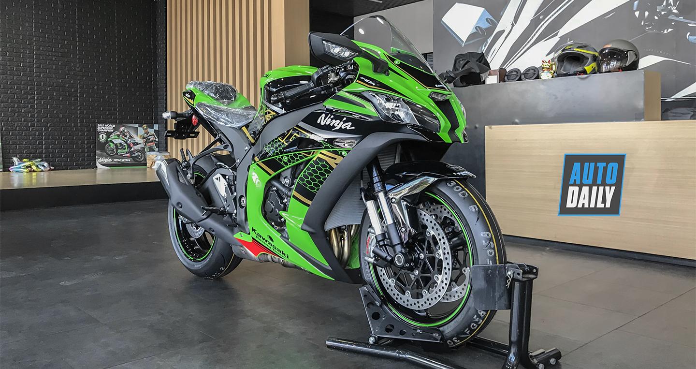 Cận cảnh Kawasaki Ninja ZX-10R KRT 2020 có giá 571 triệu đồng tại VN