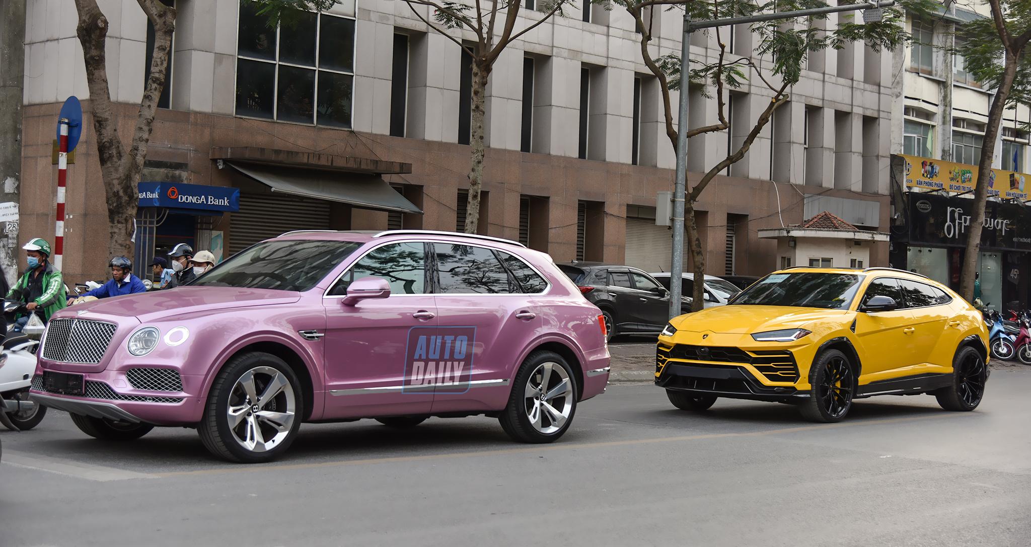 Siêu SUV Bentley Bentayga W12 màu độc nhất Việt Nam