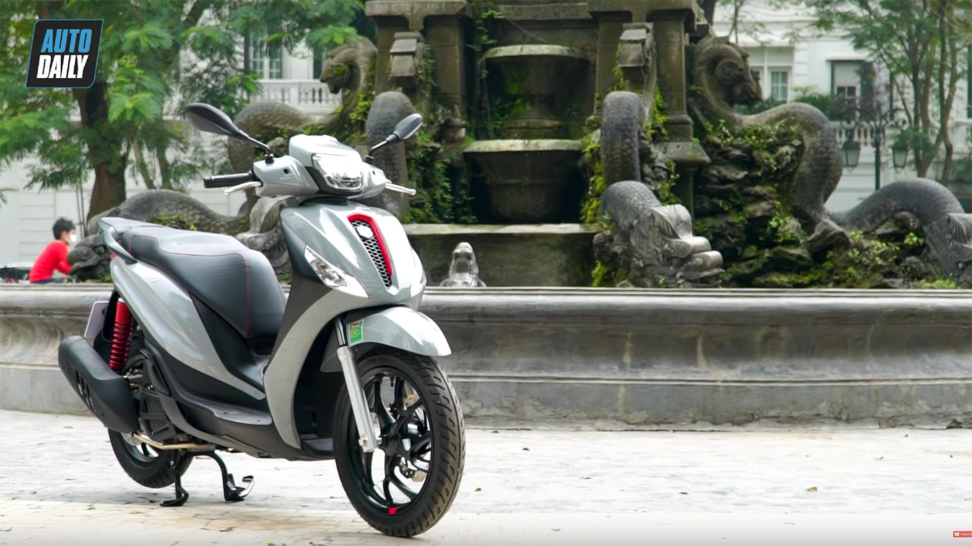 """Đánh giá """"hàng nóng"""" Piaggio Medley 2020 - Nhiều nâng cấp đáng giá, quyết đấu Honda SH 2020"""