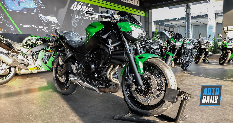 Diện kiến Kawasaki Z650 2020 đầu tiên tại Việt Nam, giá từ 187 triệu