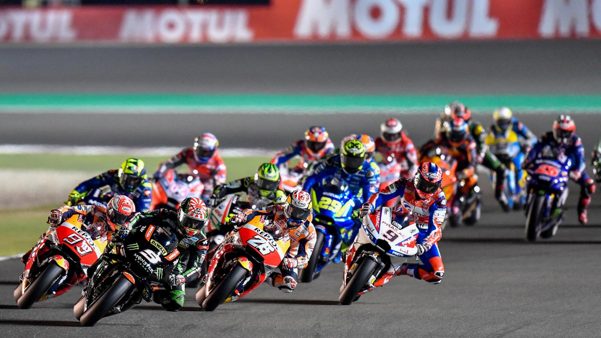 MotoGP sử lịch thi đấu mùa giải 2020 do ảnh hưởng của Covit-19