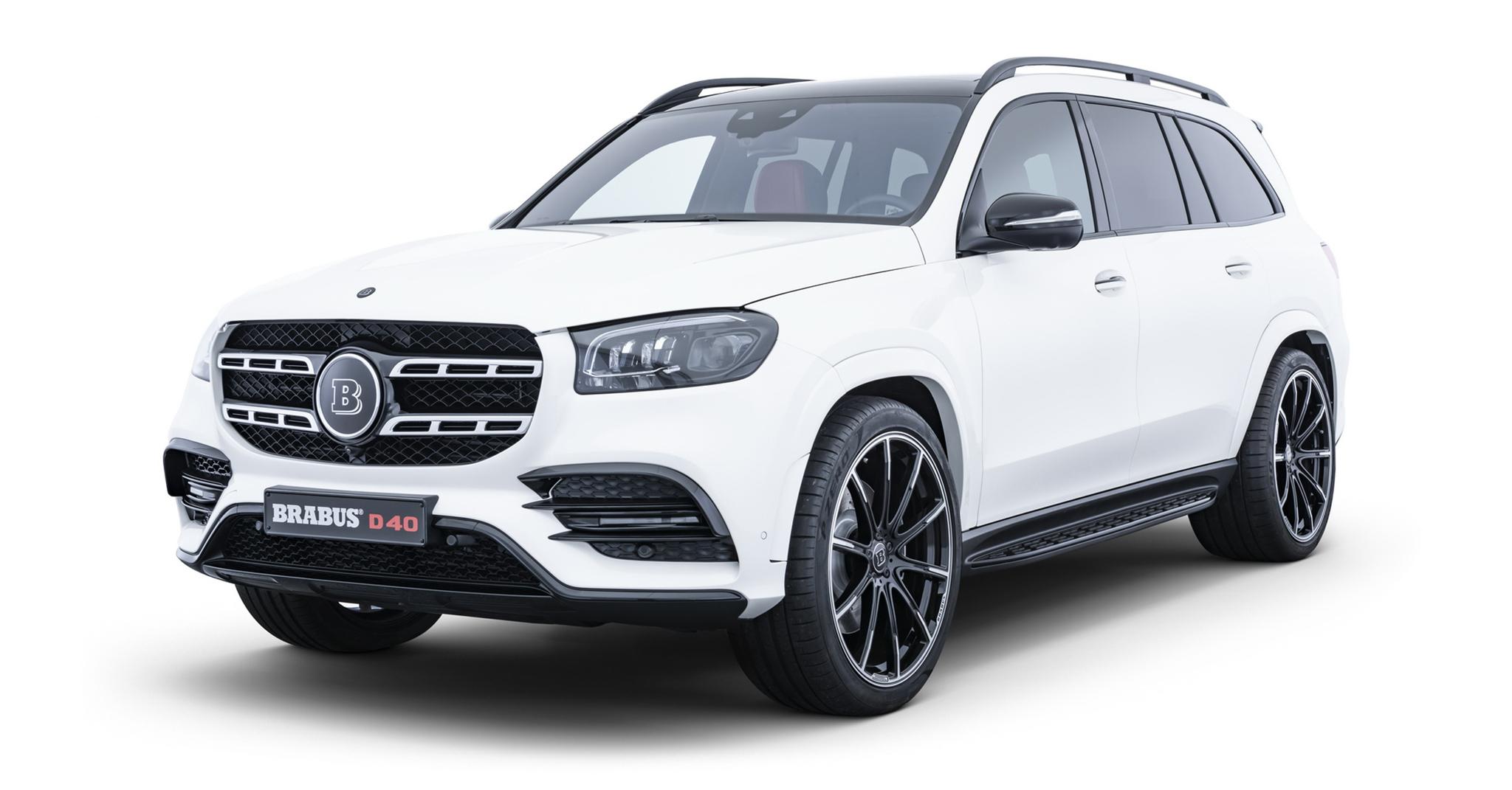 Mercedes-Benz GLS 2020 thể thao hơn qua tay hãng độ Brabus