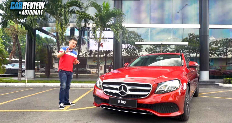 """Đánh giá """"hàng nóng"""" Mercedes-Benz E 180 giá 2,050 tỷ đồng"""