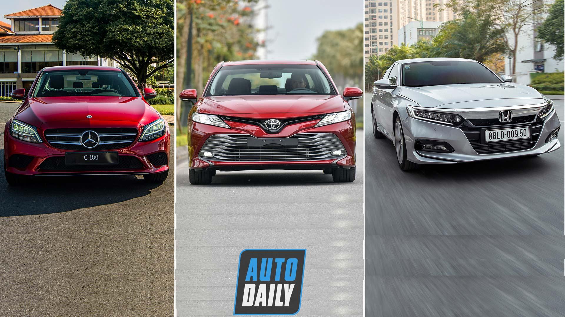 1,3 tỷ đồng, mua Mercedes C180 thay vì Toyota Camry hay Honda Accord?