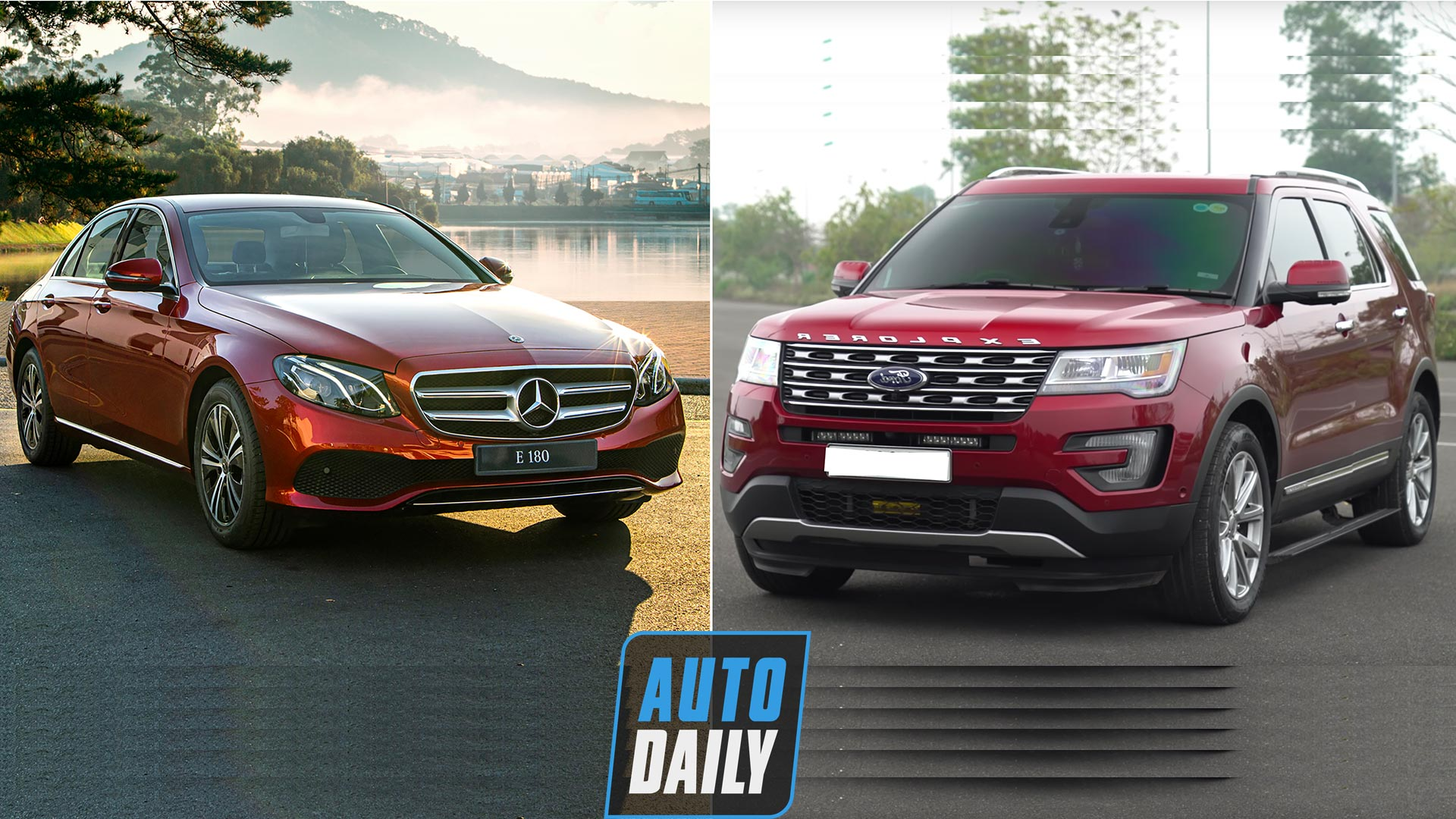 2 tỷ chọn Mercedes E180 hay Ford Explorer?