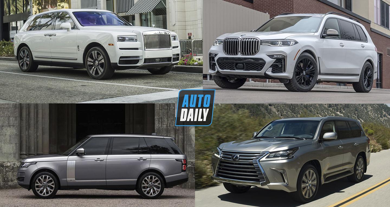 10 SUV hạng sang tốt nhất trên thị trường cho năm 2020