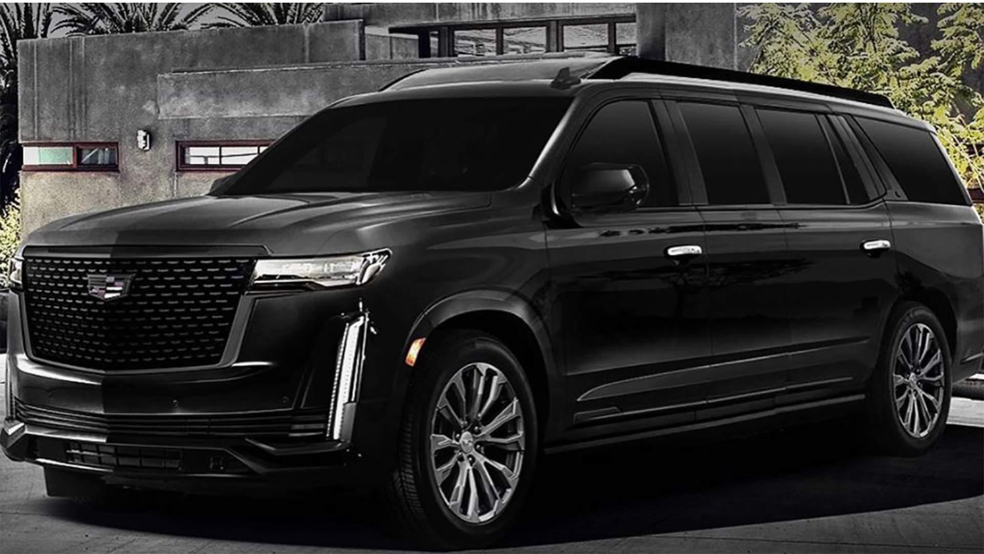 Vừa ra mắt không lâu, Cadillac Escalade 2021 đã có bản độ cực chất