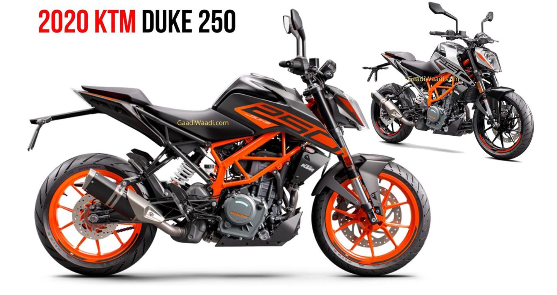 KTM Duke 250 2020 lộ diện, giá hơn 2.600 USD