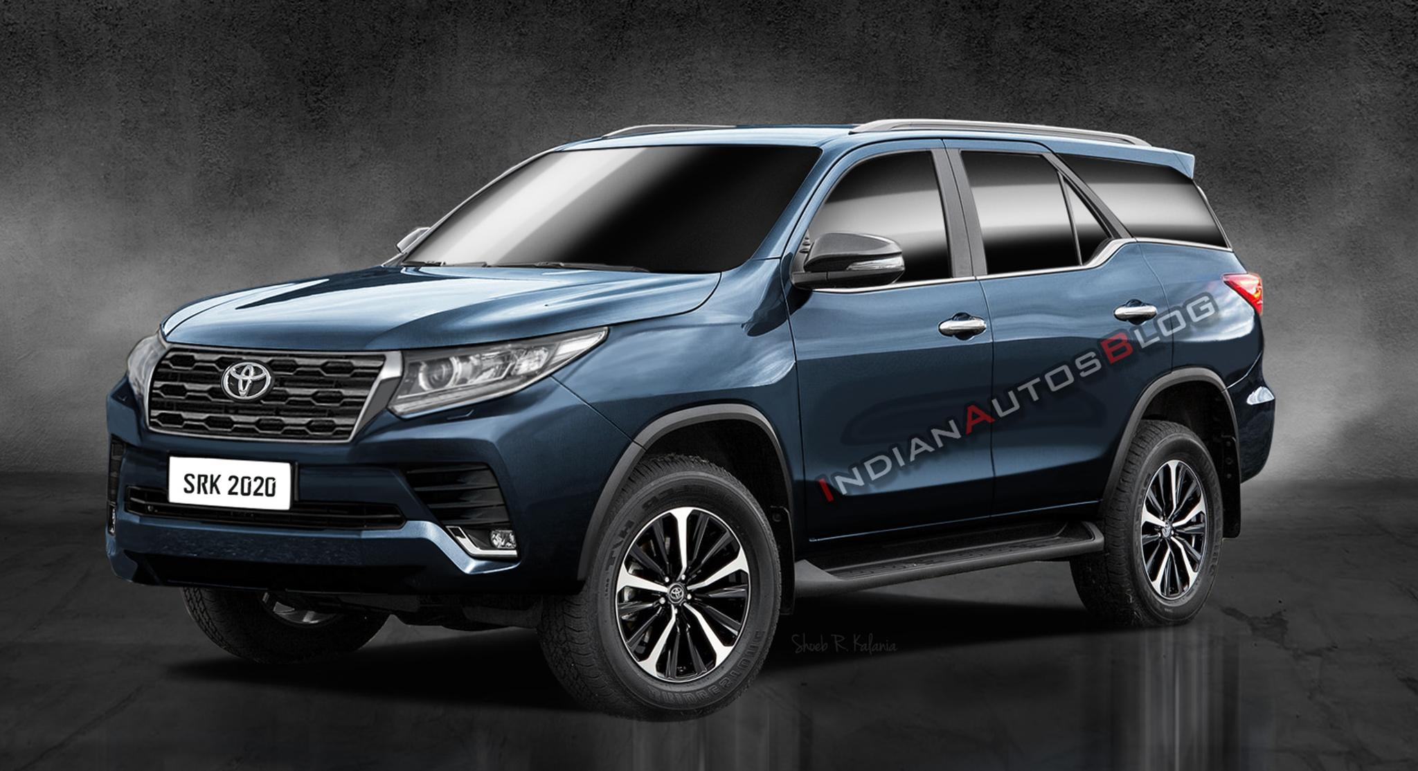 Đây có thể là Toyota Fortuner 2021 ra mắt vào cuối năm nay