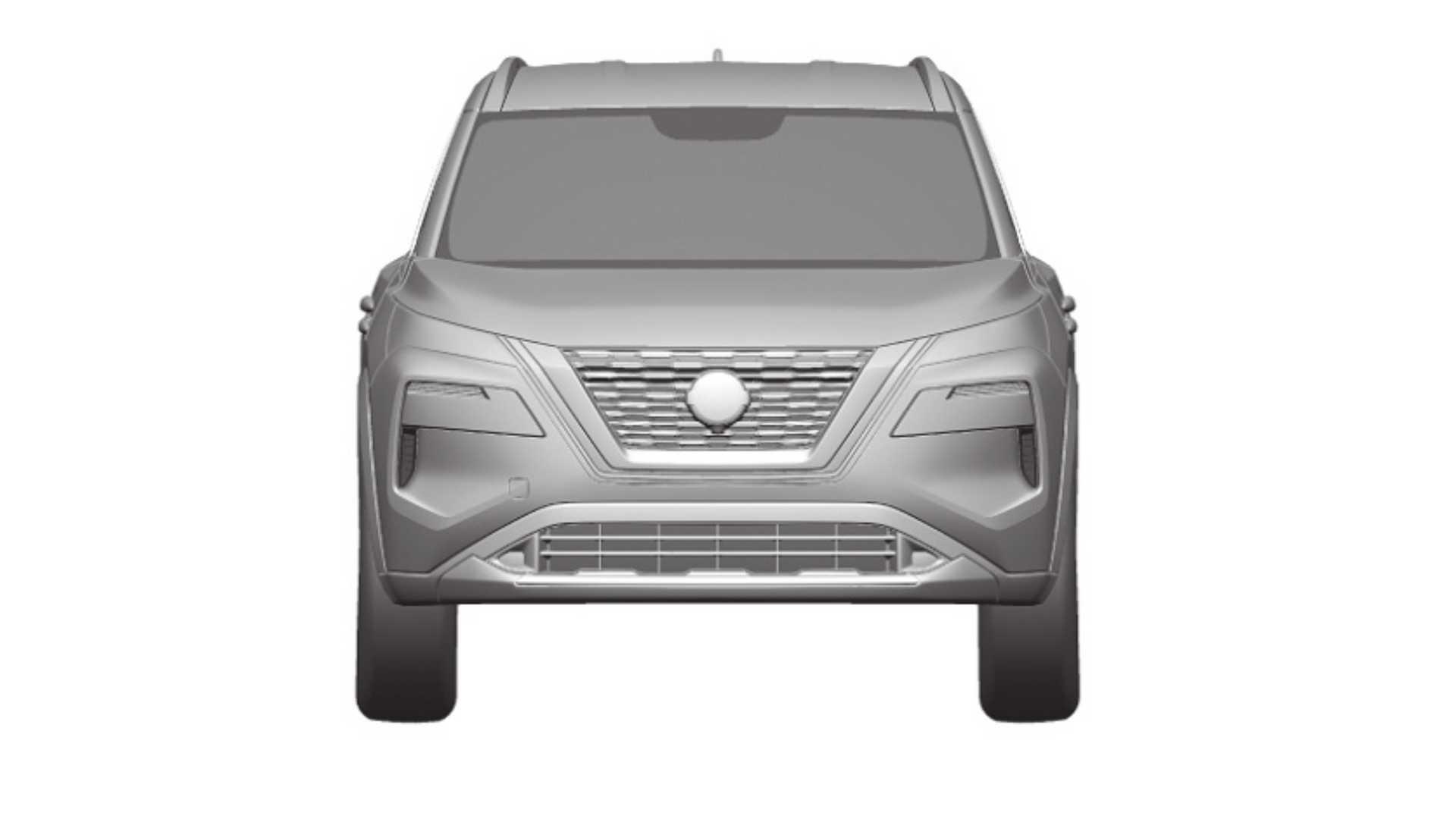 Rò rỉ hình ảnh của Nissan X-Trail 2021