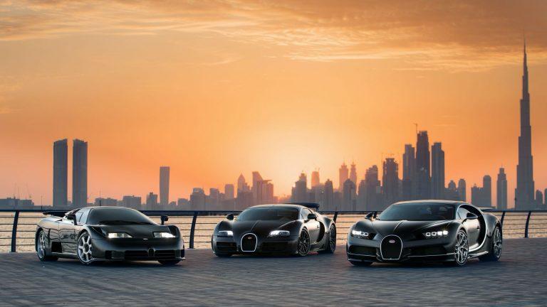 Bộ ảnh cực hiếm của 3 siêu xe biểu tượng Bugatti