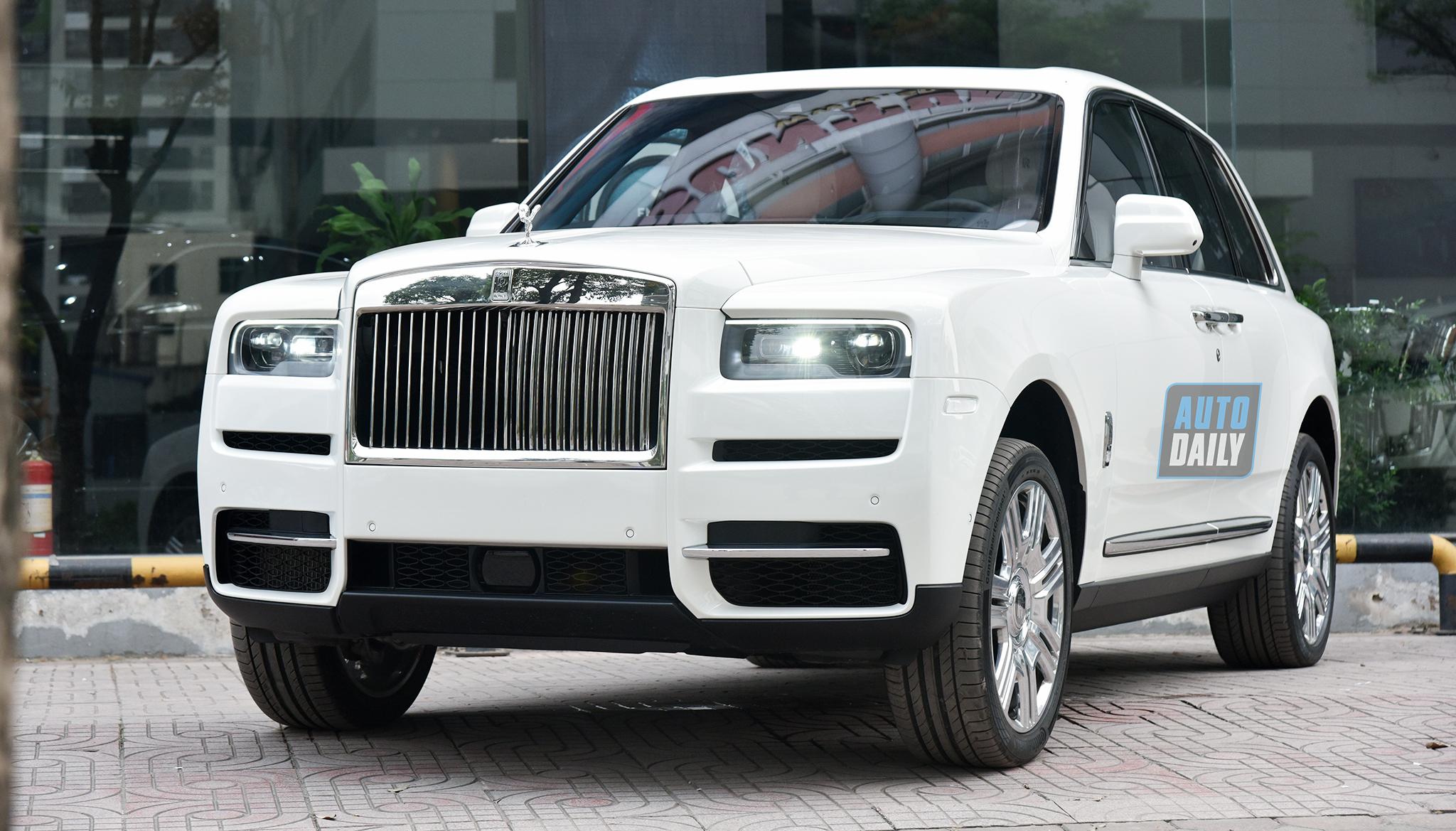 Bật mí những điều đặc biệt về Rolls-Royce Cullinan