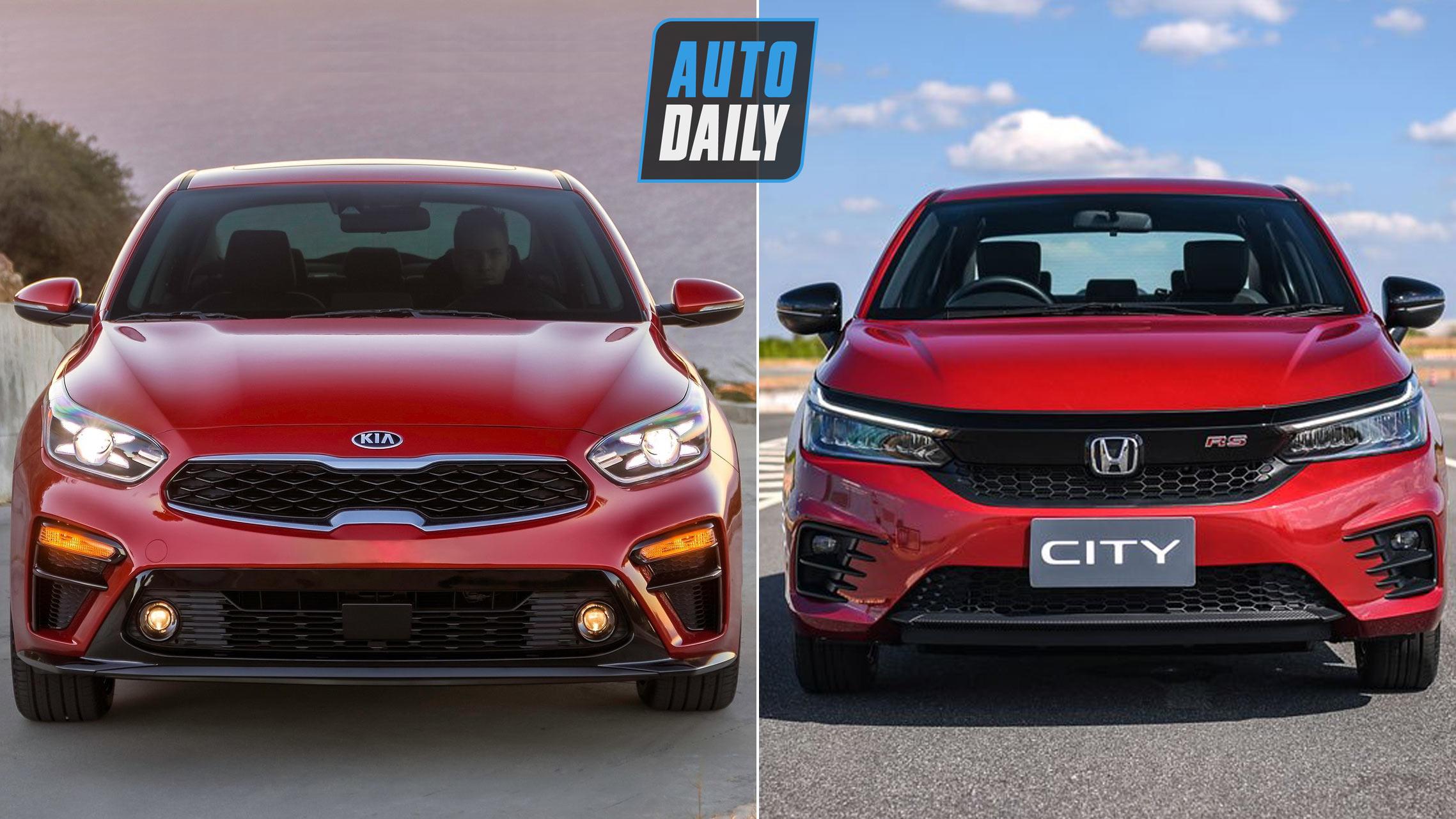 600 triệu, mua luôn Kia Cerato 1.6 hay chờ Honda City 2020?